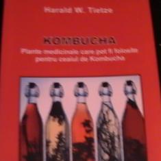 KOMBUCHA-PLANTE MEDICINALE PENTRU CEAI-HARALD WED COL ALTERNAT, TAMADUITOARE- - Carte Medicina alternativa
