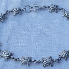 Bratara argint BROSCUTE TESTOASE inlantuite Finuta Delicata Stare Impecabila
