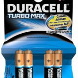 Duracell Baterie alcalina Micro (AAA, R03) 1, 5V MX2400 Turbo Max 4 buc - Baterie Aparat foto