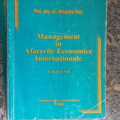 Management In Afacerile Economice Internationale Tratat ALEXANDRU PUIU