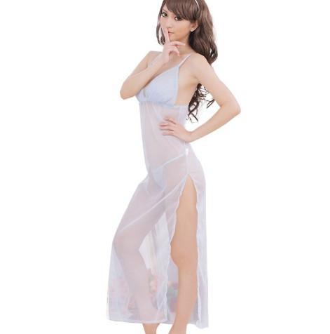 Lenjerie Lady Lust Sexy Babydoll Halat Pijama Intima Kimono Roba Plaja