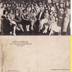 Bucuresti - Miss Romania 1929.Magda Dumitrescu.Alexandru Vaida Voievod- rara, Necirculata, Printata