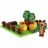 Jucarie Cuburi Masha si ursul 21 pcs Gradina ursului 57092 PlayBig