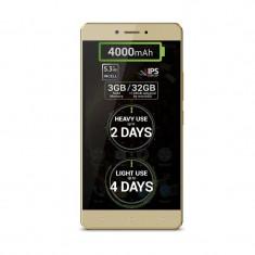 Smartphone Allview P9 Energy Lite 32GB Dual Sim 4G Gold - Telefon Allview