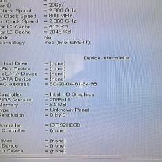 PLACA DE BAZA DELL Latitude E6520 DDR3 LA-6562P SUPORTA I3 I5 I7 A 2-A GENERATIE - Placa de baza laptop