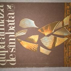 Valeriu Cristea - Dupa-amiaza de simbata (Editura Cartea Romaneasca, 1986)