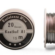 Kanthal A1 sârm? rezisten?e diametru 0, 8mm rol? 15m - Accesoriu tigara electronica
