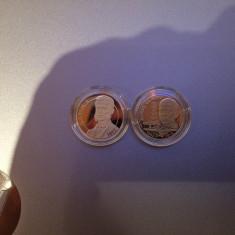 Set 2 monede 50 bani Romania, UNC - Moneda Romania, An: 2017