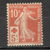 Franta.1914 Crucea Rosie XF.4, Nestampilat