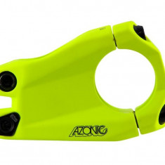 Pipa Azonic Baretta Evo L-40mm rise 15 fi 31.8 cu 1-1/8 greutate: 196g galben-neonPB Cod:AZO-78144 - Piesa bicicleta