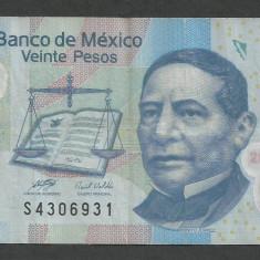 MEXIC 20 PESOS 3 mai 2010 [1] P-122i.1, polimer - bancnota america