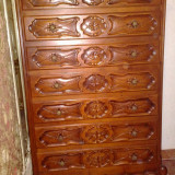 Saptamanal/dulap/comoda cu 7 sertare stil baroc, Comode si bufete, Dupa 1950