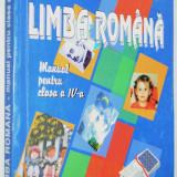 Limba Romana Manual pentru clasa IV a 2002 - Manual scolar, Clasa 4