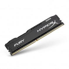 Memorie RAM Kingston, DIMM, DDR4, 8GB, 2133MHz, CL14, HyperX FURY Black Series