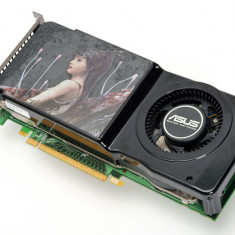 Placa video Asus 8800GTS(G92) 512 ddr3 / 256 bits Dual Dvi - Placa video PC Asus, PCI Express, 512 MB, nVidia