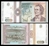 1000 LEI 1991 SERIE FARA PUNCT UNC NECIRCULATA