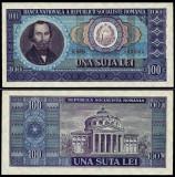 ROMANIA 100 LEI 1966 UNC NECIRCULATA