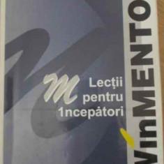 Winmentor Lectii Pentru Incepatori - Antonela Cristina Petrescu ,398151