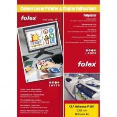 Folie Folex autoadeziva printabila A4 opaca tip laser