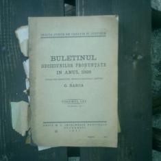 Buletinul deciziunilor pronuntate in anul 1928 volumul LXV partea III - G. Barca - Carte Istoria dreptului