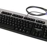 Tastatura HP Silver & Black, PS/2, QWERTY, KB-0316