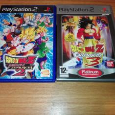 Pachet 2 Jocuri Playstation 2/ps2 Dragon ball Budokai - Jocuri PS2 Namco Bandai Games