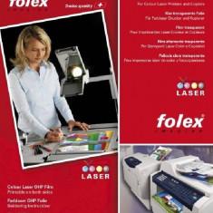 Folie Folex incolora pentru laser si copiator A4 printabila fata-verso