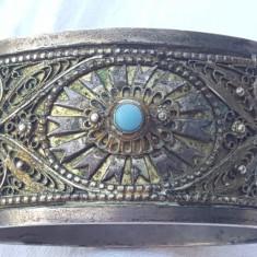 UNICAT Bratara argint TRIBALA afghana MASIVA veche SPECTACULOASA vIntage RARA