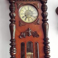 Ceas de perete cu pendula Friedrich Mauthe Schwenningen