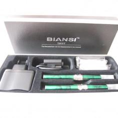 Kit 2 tigari electronice 650 mAh Imist 2 verde marmorat - Kit tigara electronica