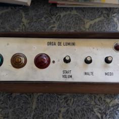 ORGA DE LUMINI, HOME MADE - Efecte lumini club