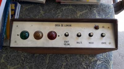 ORGA DE LUMINI , HOME MADE foto