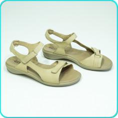 DE FIRMA → Sandale dama, din piele, comode, aerisite, ECCO → femei | nr. 39