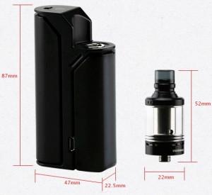 Mod Wismec Reuleaux RX75 cu atomizor Amor Mini