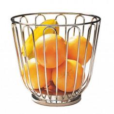 Cos fructe inox, pentru bar Ø 21,5 cm, H=20,5 cm