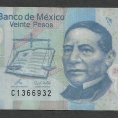 MEXIC 20 PESOS 3 mai 2010 [2] P-122i.3, polimer - bancnota america