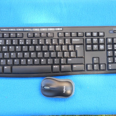 Kit tastatura + mouse Wireless Logitech K270., Fara fir, USB