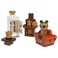 Jucarie cuburi Masha si ursul Misha Room Camera Ursului 57093 PlayBig