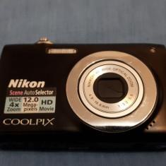 NIKON COOLPIX S2550 12Mp Aparat foto fuctional (negru) - Aparat Foto compact Nikon