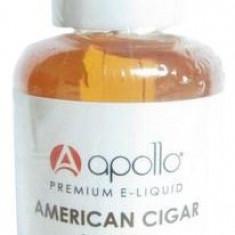 Trabuc American 30ml e-lichid VG + PG - Lichid tigara electronica