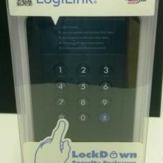 RACK Extern 2.5inch Logilink , criptare a datelor, USB 3.0