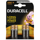 Duracell Baterie alcalina Micro (AAA,R03) 1,5V MN2400 4 buc