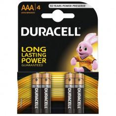 Duracell Baterie alcalina Micro (AAA, R03) 1, 5V MN2400 4 buc - Baterie Aparat foto