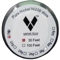 Vapor Tech Ni200 sarma rezistente 0.8mm - 10 metri