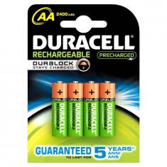 Duracell Acumulator Ni-MH Mignon (AA, R6) 1, 2V 2500mAh 4 buc - Baterie Aparat foto