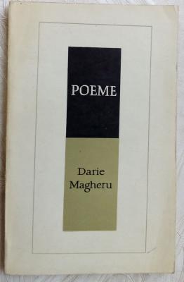 DARIE MAGHERU - POEME (1940-1957) [EPL, 1968 / coperta CRISTEA MULLER] foto