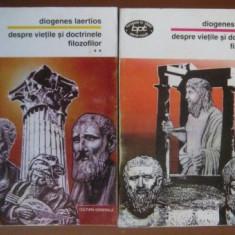 Despre vietile si doctrinele filozofilor / Diogenes Laertios BPT 1469 1470 - Filosofie