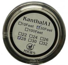 Kanthal A1 sarma rezistente 0.4mm - 10 metri foto