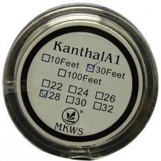 Kanthal A1 sarma rezistente 0.4mm - 10 metri - Accesoriu tigara electronica