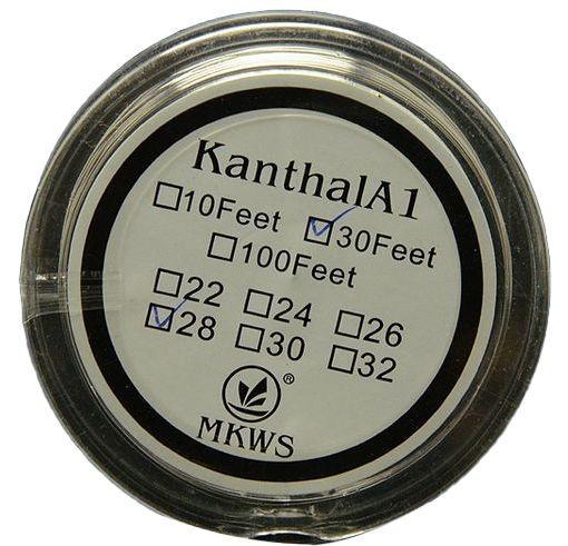 Kanthal A1 sarma rezistente 0.4mm - 10 metri